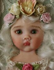 OOAK Realistic Polymer Clay Artisan Doll baby girl 3d sculpted Artwork by YivArt