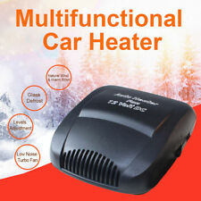 Car Ceramic Heater Heating Cooling Fan Portable Defroster Demister Vehicle 12V