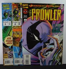 Prowler, The  #s: 1,2,3   (Marvel, 1994) Lot of 3 books,  Creatures of the Night