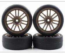 NEW Kyosho Fazer Rally BS Potenza Hg & RE30 Tires Bronze Rims (4pieces)