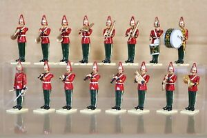BRITAINS REFINISHED MODIFIED DRAGOON GUARD BAND x 16 nq