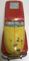 Vintage Wolverine Tin Litho Taxi Car, Tin Toy Vehicle, Made In U.S.A.