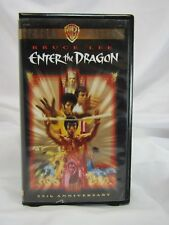 BRUCE LEE *Enter The Dragon* 25th Anniversary Movie VHS Videocassette