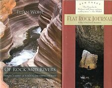 2 Books on Rural Places: Of Rock & Rivers: The West, Flat Rock Journal: Ozarks