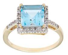 Anelli di lusso topazio Misura anello 8