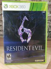 Resident Evil 6 (Microsoft Xbox 360, 2012) 2 disk set!