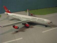 "DRAGON WINGS VIRGIN ATLANTIC ""LADY IN RED"" A340-311 1:400 SCALE DIECAST MODEL"