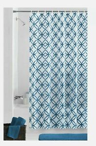 Mainstays Hadley Teal Chloride-free PEVA Shower Curtain. New in Package