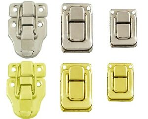 Suitcase Toggle Latch Lock Chest Catch Box Case Clasp Trunk Hasp Flight Uk New