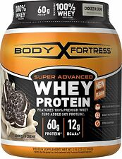 Body Fortress Super Advanced Whey Protein Powder, Cookies N' Creme, 2 Pound