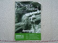 REMINGTON MODELS 700, SEVEN AND 673 BOLT ACTION OWNER'S MANUAL.