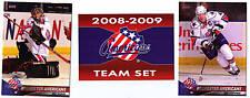 2008-09 Rochester Americans Amerks Mike Brodeur ROOKIE