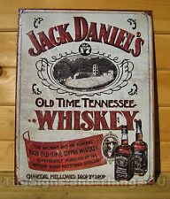 Jack Daniels Sippin Whiskey LICENSED TIN SIGN REPRODUCTION metal BAR decor 1665