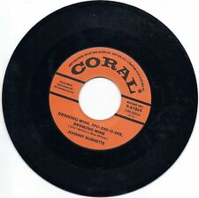 Johnny Burnette-Drinking Wine Spo-Dee-O-Dee- / Butterfingers-Coral 61869 Reissue