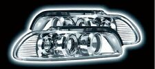 BMW E39 Chrome Powering TWIN Halo Projector Design Headlights - Angel Eyes - NEW