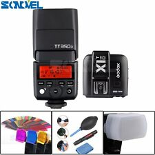 Godox TT350O Camera Flash TTL HSS GN36 + X1T-O Transmitter for Olympus/Panasonic