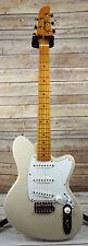 Ibanez Talman Prestige Series TM1730 Electric Guitar Vintage White Hardshell cas