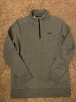Men's Under Armour Loose Cold Gear Mock Neck 1/4 Zip Pullover •Size S *NWT