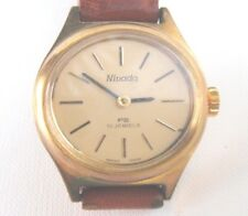 Nivada, 17 Jewel, Swiss Made, Hand Wind, Ladies Watch