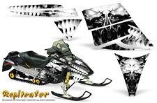 SKI-DOO REV MXZ 03-09 SNOWMOBILE SLED CREATORX GRAPHICS KIT REPLICATOR WHITE