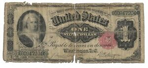 1891 Martha Washington $1 Silver Certificate