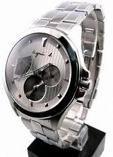 agnes b Calendar Display Stainless Steel Men's Watch BN7001P