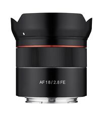 Samyang AF 18mm F2.8 FE Auto Focus Full Frame Wide Angle Lens for Sony E