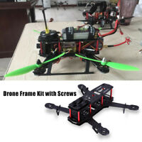 250MM Carbon Fiber Frame Kit for QAV250 RC Quadcopter 4 Axle FPV Drone Aircraft❤