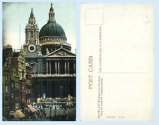 St Pauls Cathedral London England UK c1912  Postcard Architecture