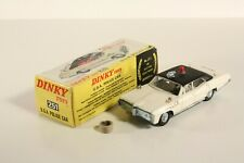 Dinky Toys 251, U.S.A. Police Car, Mint in Box                           #ab2216