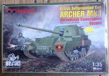 Marquette Models 1:35 British Selfpropelled Gun Archer Mk.I Mq-3552 New Rare