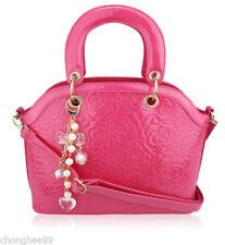 Bolsos de mujer Tote rosas sin marca