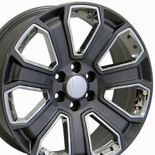 "20"" Wheels For Chevy Avalanche Blazer Silverado Suburban Tukon Sierra Tahoe Rims"