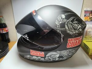 XRARE 2014 Dale Earnhardt Jr National Guard Skull BrandArt Full Scale Helmet NIB