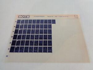 Microfiche Catalogue des Pièces Roth Toro Chasse-Neige S 200 Et Cr 20'