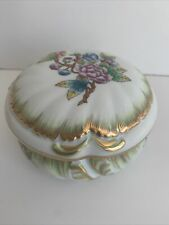 More details for vintage herend queen victoria trinket dish with lid 3