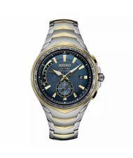 Seiko SSG020 Coutura Radio Sync Solar Wrist Watch for Men!