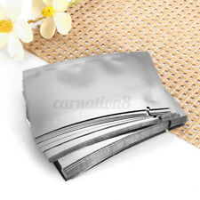 100 Pcs Aluminum Foil Flat Packaging Bag Food Storage Pouch 6x9cm