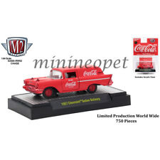 M2 MACHINES 52500 COCA COLA 1957 CHEVY SEDAN DELIVERY 1/64 ALL RED Chase Car
