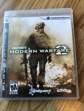 Call of Duty: Modern Warfare 2 (Sony PlayStation 3, 2009) PS3 H3
