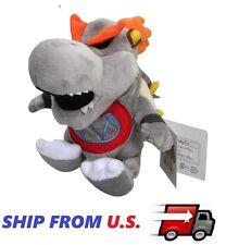 "NEW Super Mario - 7"" undead Dry Bowser Jr Koopa Soft Stuffed Plush Toy US seller"
