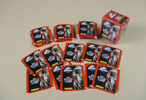 PANINI JURASSIC WORLD STICKERS THE ULTIMATE ALBUM STICKER PACKETS JURASSIC WORLD