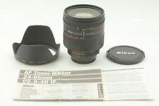 【Exc+5 w/ Hood 】Nikon Nikkor AF 24-85mm f/2.8-4 D Zoom Lens From Japan #429