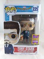 Marvel Funko Pop - Tony Stark - Spider-Man Homecoming - SDCC Exclusive - No. 225