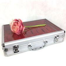 Alu Uhrenkoffer für 24 Uhren Uhrenbox Schaukasten Uhrenkasten Alukasten Neuheit!