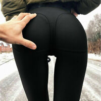 Women PUSH UP Yoga Leggings Fitness High Waist Gym Sports Pants Running Fashion