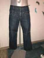 jeans large court multi poches MARITHÉ FRANÇOIS GIRBAUD taille 40 fr i 46 usa 31