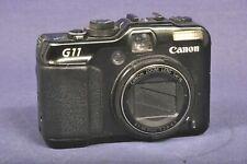 Canon PowerShot G11 10.0MP Digitalkamera - Schwarz / defekt Bastler for Spare
