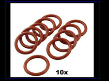 10 Pcs Silicone OD 25mm Diameter 2.5 mm Thickness O Ring Seal