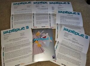 RARE! Vintage Psygnosis Wipeout 3 PlayStation 1 PS1 Official Press Kit & Folder!